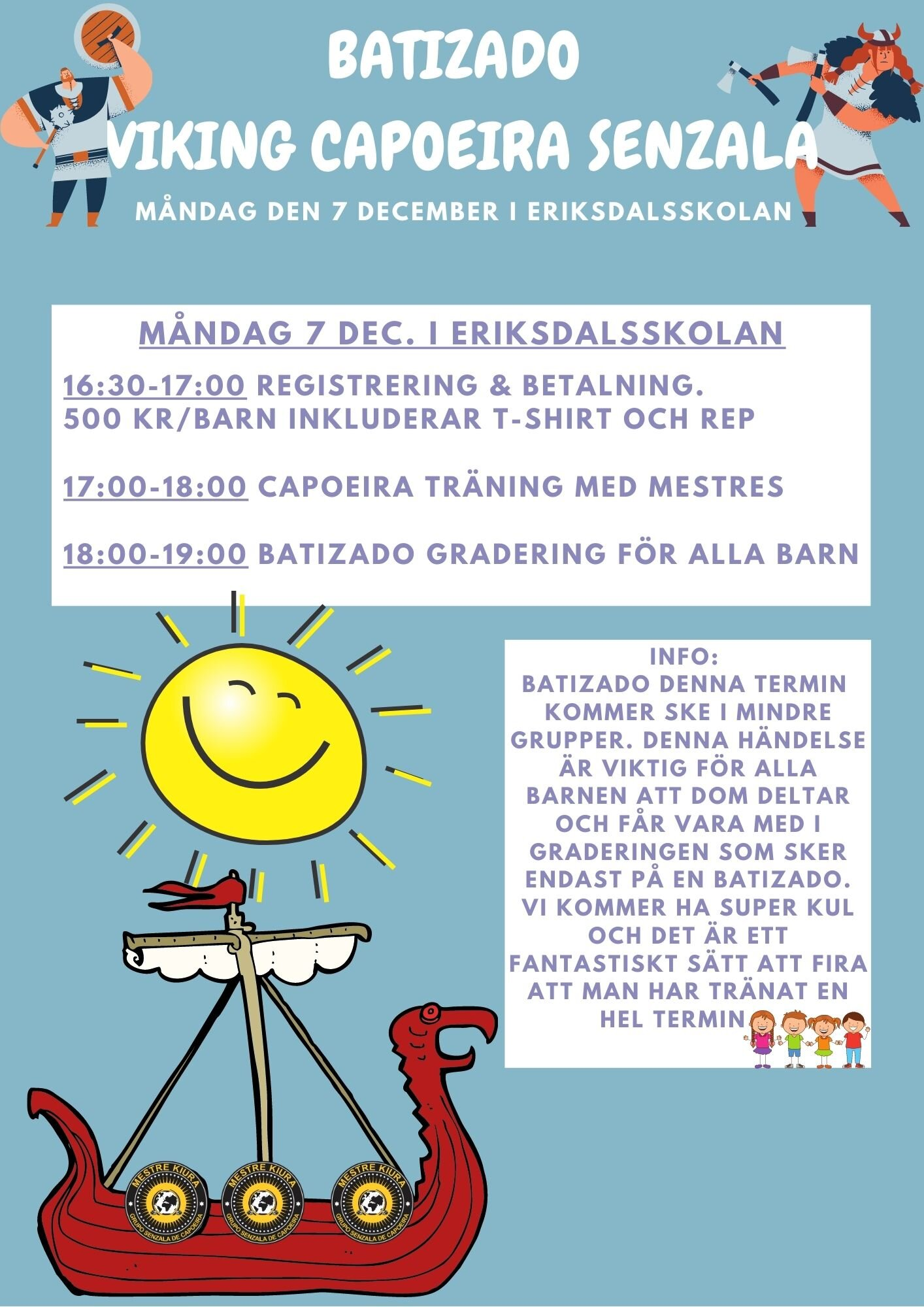 Barngrupper Skanstull Schema För Batizado Måndag 7 December